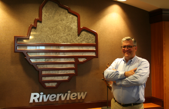 Chris Cline Riverview Bank