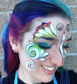 Face Painting Business Of Up Close With Kelsey Jennrich Vancouver Business Journal