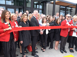 HAPO Credit Union ribbon cutting